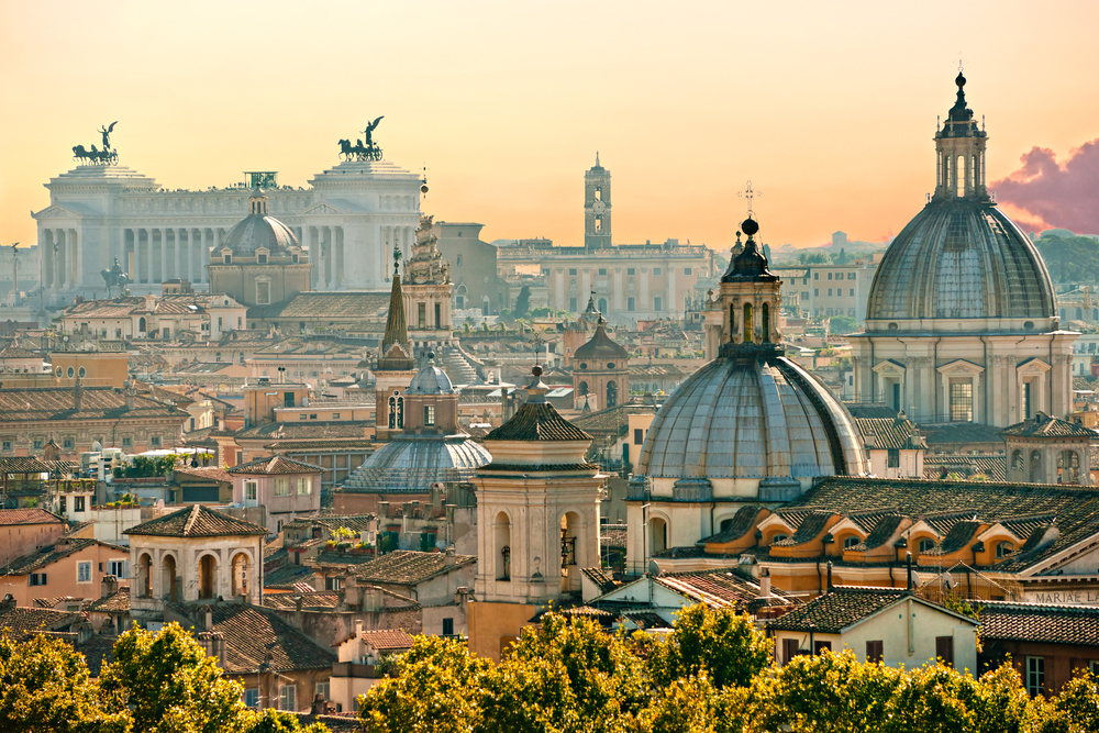 rome italy Romantic getaways for couples in Italy