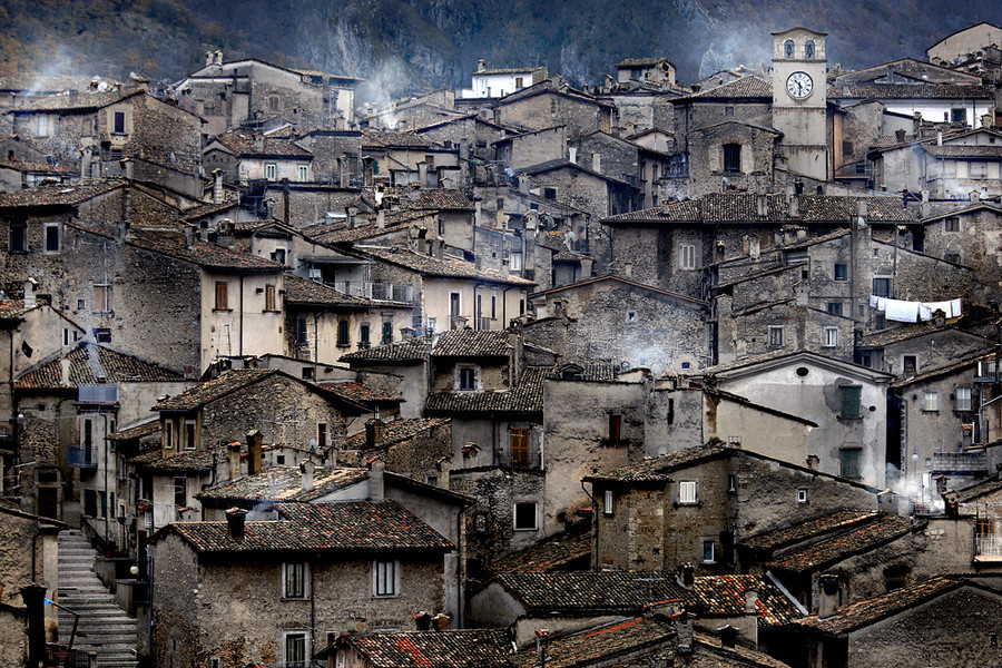 scanno italy Lake of Scanno