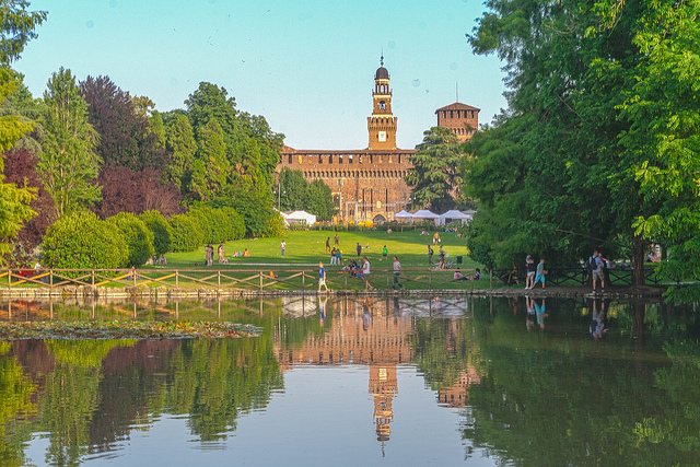 Parco Sempione What to do in Milan during the Easter holidays ?